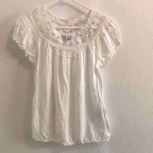 MaX Edition white Lacey blouse